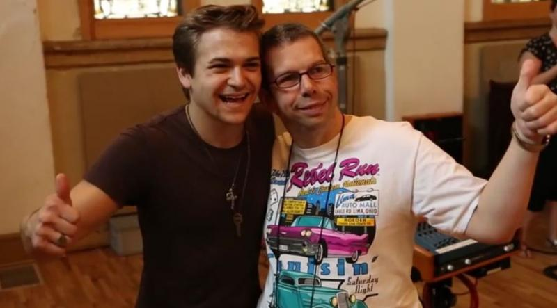 Recording Session with Hunter Hayes & Ross Copperman - ACM Lifting Lives Music Camp 2015