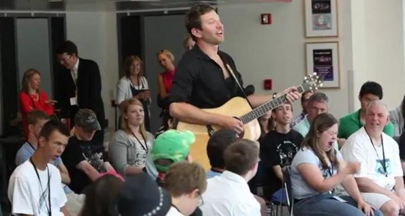 ACM Lifting Lives Music Camp 2012 - Songwriting Session with Brett Eldredge and David Lee Murphy