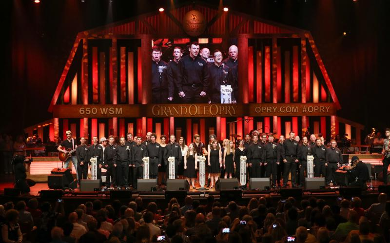 Grand Ole Opry with Hunter Hayes - ACM Lifting Lives Music Camp 2015