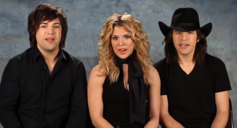 ACM Lifting Lives My Cause: The Band Perry - Outnumber Hunger